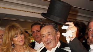 """Stargast Goldie Hawn und Gastgeber Richard Lugner beim """"Wiener Opernball"""" 2017"""