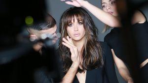 """Grace Capristo beim Videodreh zu """"Ricorderai l'Amore"""""""
