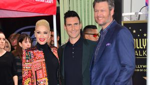 Gwen Stefani, Adam Levine und Blake Shelton in Los Angeles