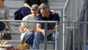 So süß turteln Gwen Stefani und ihr Blake beim Football-Date