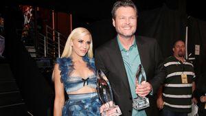 """Gwen Stefani und Blake Shelton während der """"People's Choice Awards"""" 2017"""