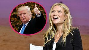 Gwyneth Paltrow und Donald Trump