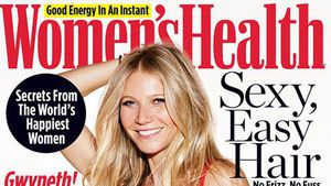 "Gwyneth Paltrow auf dem Titel der ""Women's Health"""