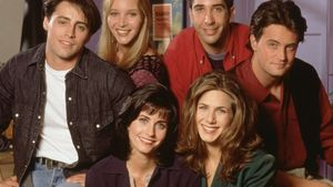 Matt LeBlanc, Lisa Kudrow, David Schwimmer, Matthew Perry, Courteney Cox und Jennifer Aniston