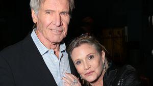 """Harrison Ford und Carrie Fisher bei der Premiere von """"Star Wars: Das Erwachen der Macht"""" in LA 2015"""