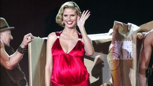 20 Model-Jahre Heidi Klum: So schön war sie 2005 schwanger
