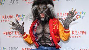 """""""Thriller"""" oder """"Teen Wolf""""? Das ist Heidi Klums Grusel-Look"""