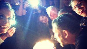 Heidi Klum und andere Gäste auf Party zu Michael Michalskys 50. Geburtstag