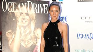 "Heidi Klum bei der ""Ocean Drive Magazine""- Party in Miami"