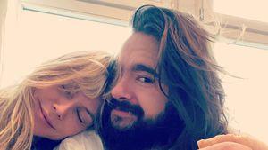 Schmuse-Frühstück: Süße Grüße von Heidi Klum und Tom Kaulitz