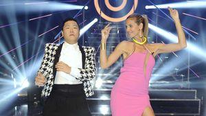 Crazy Dance-Moves: Heidi Klum & Psy wieder vereint
