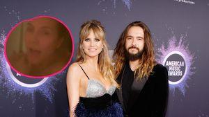 Unangenehm? Heidi Klum und Tom filmen sich unter der Dusche