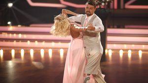 Heinrich Popow und Kathrin Menzinger bei der siebten Show von Let's Dance