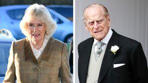 Camilla verrät: Mit Prinz Philip geht's langsam aufwärts