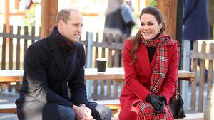 Im Familiendrama: Herzogin Kate ist Prinz Williams Stütze