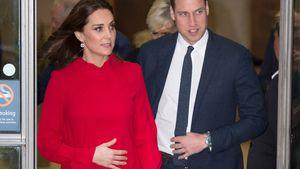 Pfiffiges Schwangerkleid: Herzogin Kate verhüllt ihren Bauch