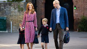 Prinz William ist froh, dass Kids wieder zur Schule gehen!