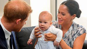 Groß geworden: Archie Harrison soll erste Schritte machen