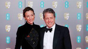 Hugh Grant: Seltener Auftritt mit seiner Frau bei den BAFTAs