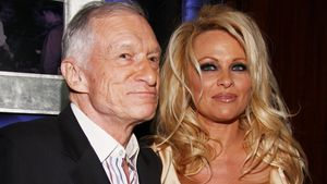 Sex vor Publikum? Pamela Andersons wilde Nacht mit Hugh