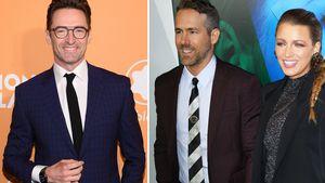 "Wegen Ehemann Ryan: Hugh Jackman hat ""Angst"" um Blake Lively"