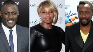 Idris Elba, Mary J. Blige und Will.i.am