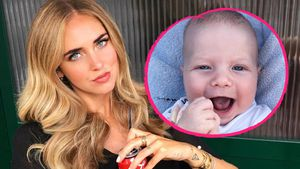 Grimmiges Baby: Chiara Ferragnis Sohn kann auch ganz anders