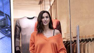 In hohen Stiefeln: So sexy geht Model Irina Shayk shoppen
