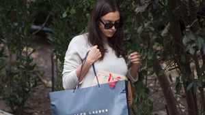 Irina Shayk beim Shopping