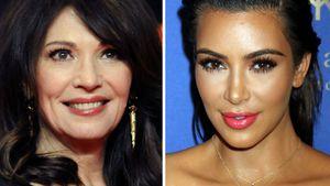 Iris Berben und Kim Kardashian