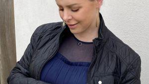 Zweites Kind: Hochschwangere Isabel Edvardsson ist entspannt
