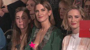 Auf der Fashion Week: Kurzer Nippelblitzer bei Isabell Horn