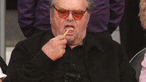 XXL-Gönnung: Hier verputzt Jack Nicholson Pommes & Burger