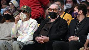 Jack Nicholson zum ersten Mal seit rund zwei Jahren gesehen