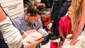 Reality-Star erklärt: So kam's zur Geburt im Kleiderschrank