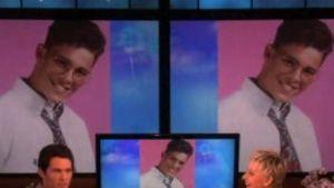 Ellen DeGeneres und James Marsden