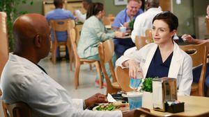 """James Pickens Jr. und Caterina Sorsone in der 11. Staffel von """"Grey's Anatomy"""""""