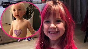 """Wie Mama Pink! Tochter Willow """"tätowiert"""" Bruder Jameson"""