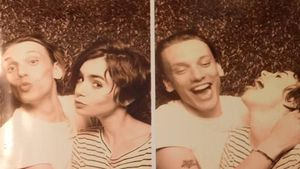 Crazy in love: London-Reunion bei Lily Collins & Jamie