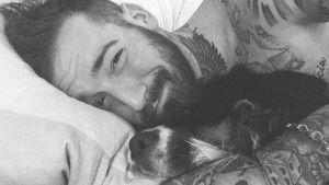 Jan Leyk und sein Hund