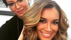 Jana Ina Zarrella und Make-up-Artistin Asal Sahin
