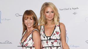 Unangenehm? Jane Seymour & Paris Hilton im gleichen Kleid!
