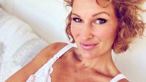 """""""Wie eine Zuckerwatte"""": Janni Kusmagk gibt Baby"""