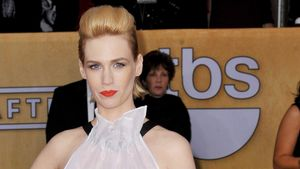 January Jones: Plazenta-Pillen gegen Depressionen