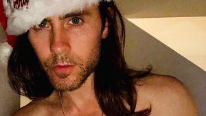Santa, Baby! Jared Leto zeigt mit Weihnachtsmütze Sixpack