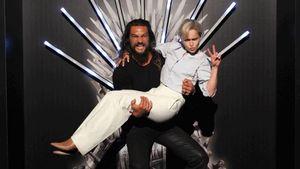 "Emilia Clarke & Jason: Witzige ""Game of Thrones""-Reunion"