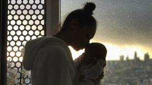 Jayde Pierce mit ihrer Tochter Ayla
