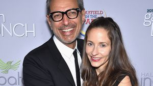 Jeff Goldblum und Emilie Livingston auf Red Carpet in Washington