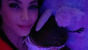 Niedlich: Schwangere Jenna Dewan knuddelt mit Tochter Everly