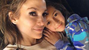 Jennifer Lopez und ihre Tochter Emme Maribel Muñiz